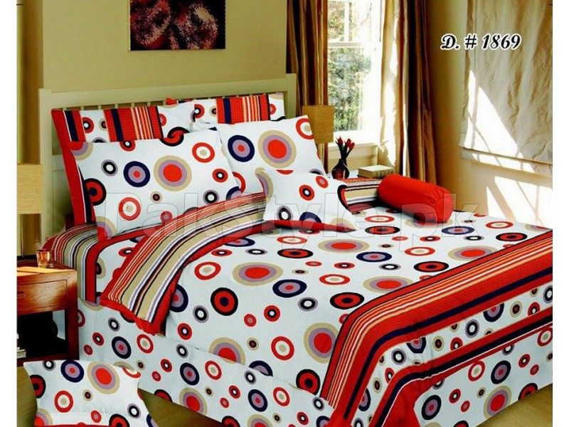 Branded Poly Cotton Bed Sheets