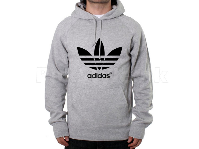 adidas logo pullover hoodie grey price in pakistan. Black Bedroom Furniture Sets. Home Design Ideas