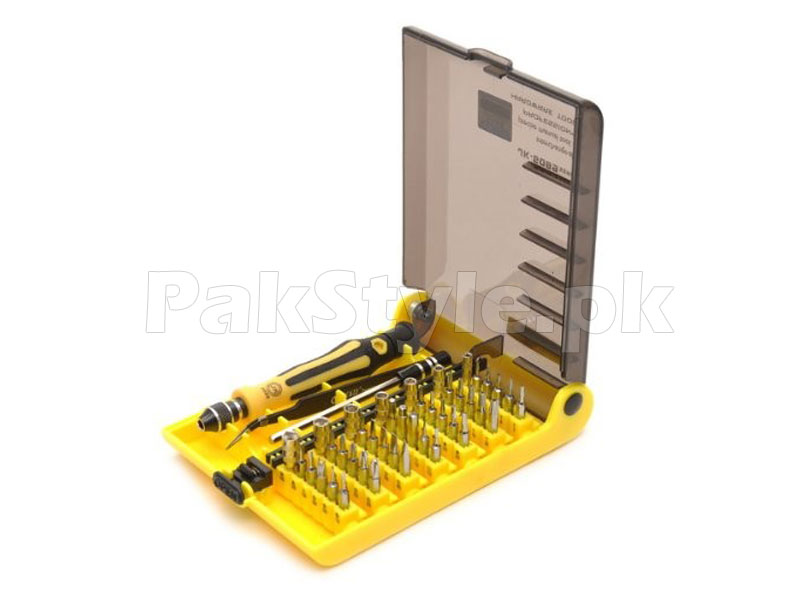 45 Piece Precision Screwdriver Tool Kit in Pakistan