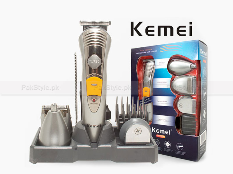 Kemei 7 in 1 Rechargeable Grooming Kit in Pakistan