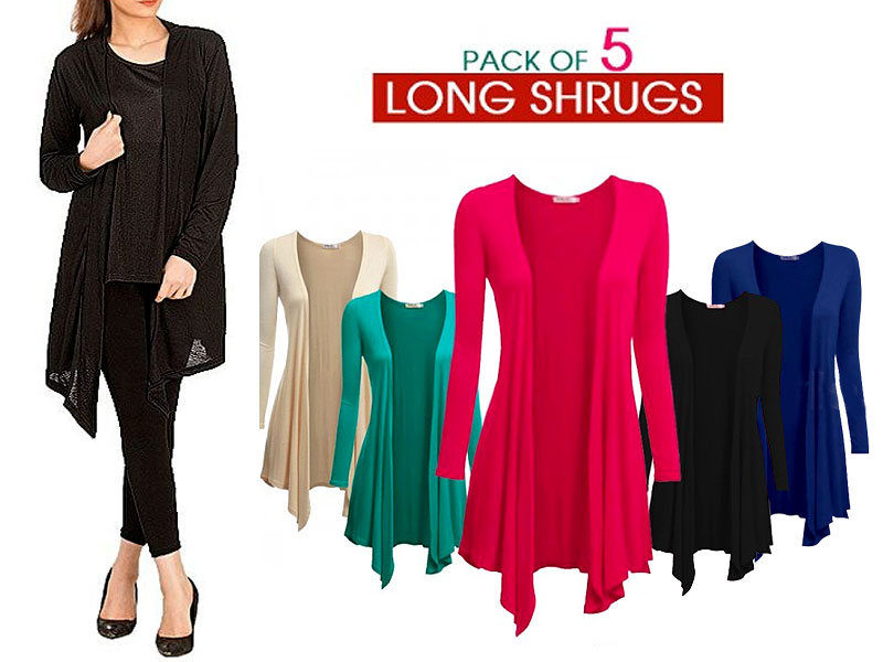7 Women's Cotton Shrugs Price in Pakistan