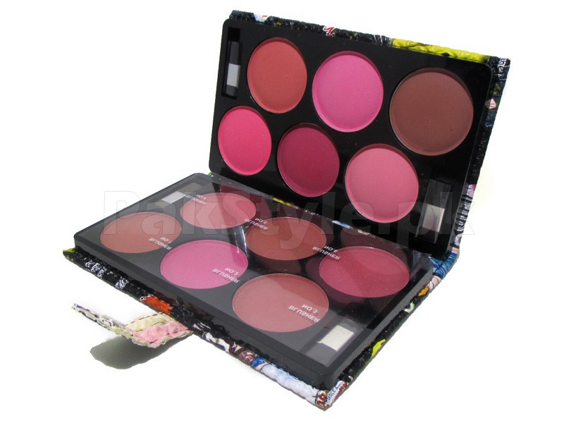12 Blusher Colors Palette