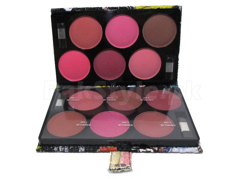 12 Blusher Colors Palette in Pakistan