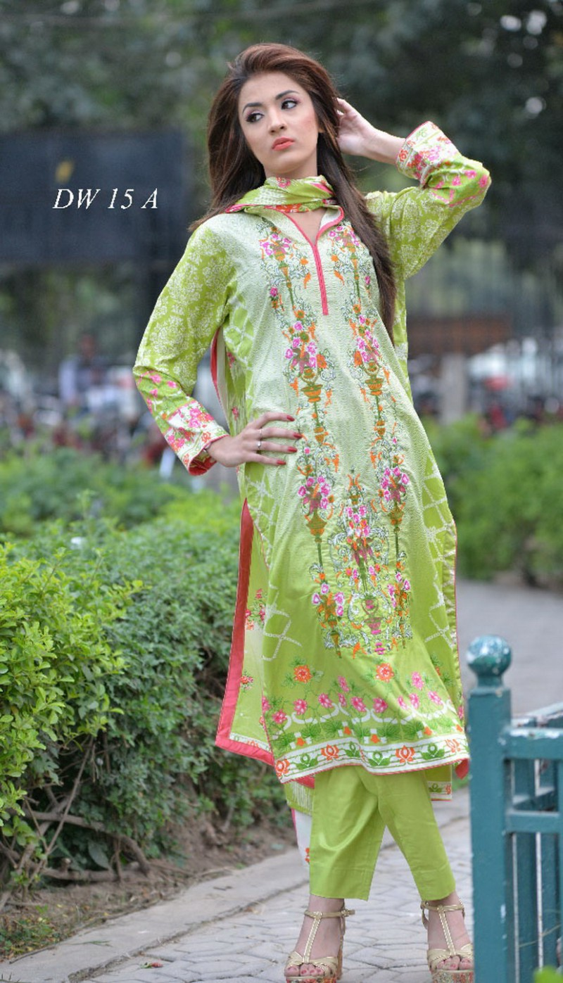 084bb7f5a102 Ladies Ready Made Designer Embroidered Linen Suit Price in Pakistan ...