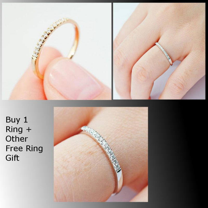 Silver Simple Ring + Free Other 2 As a Gift Price in Pakistan ...