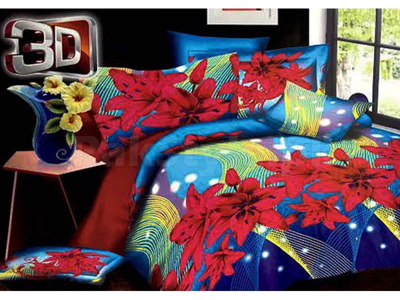 3D Poly Cotton Bed Sheet Price in Pakistan
