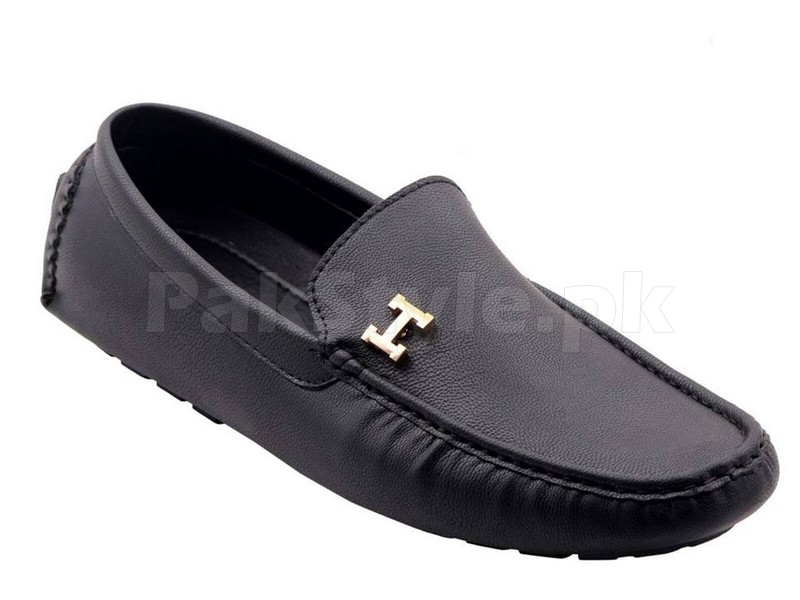 Hermes Loafer Shoes Black Price In Pakistan (M00608 ...