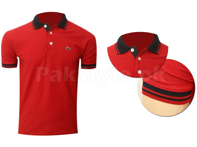 Pack of 3 Lacoste Polo Shirts P1 in Pakistan