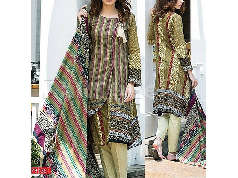 Riwaj Printed Lawn By Shariq Textiles