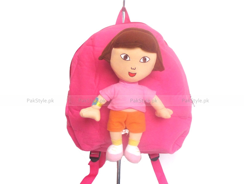 Kids Dora Stuffed Backpack Price in Pakistan (M006245) - Check Prices ...: http://dir.pakstyle.pk/item/kids-dora-stuffed-backpack-p6245.html