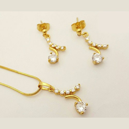 Gold Chain Locket & Earrings Price in Pakistan M Check
