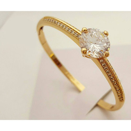 Stylish Golden Diamond Ring ls 8 Price in Pakistan M