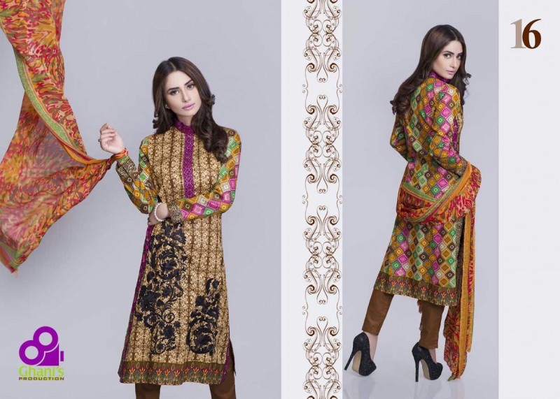 af0ed7fc49ca Designer Embroidered Lawn Suit UnStitched Price in Pakistan (M007074 ...