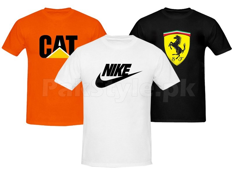 3 Printed T-Shirts Bundle Pack Price in Pakistan