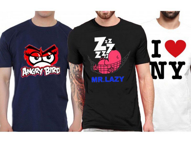 3 Graphic T-Shirts Price in Pakistan