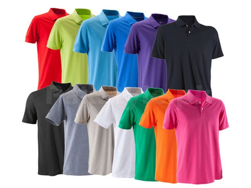 50 Plain Polo Shirts on Wholesale in Pakistan
