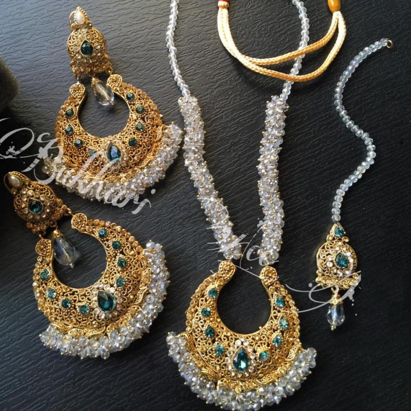 18K Gold Plated Jewellery Set Price in Pakistan M Check