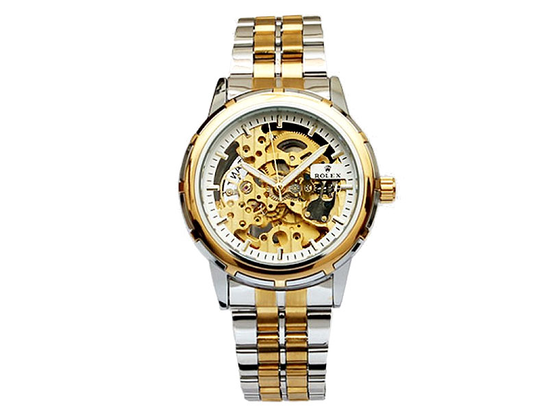 7fa182585b1 Men s Automatic Skeleton Two-Tone Watch Price in Pakistan (M007584 ...