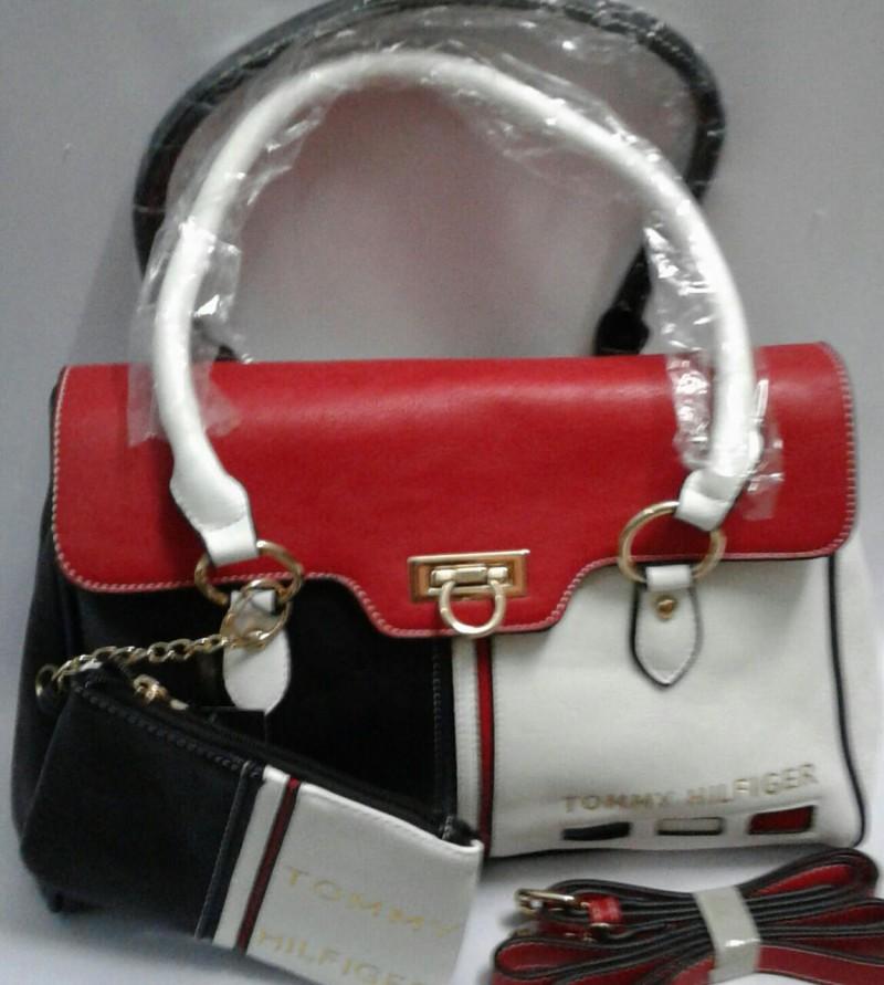33599e31acd Tomy Hilfiger Ladies Handbag Set of 2 Price in Pakistan (M007655 ...