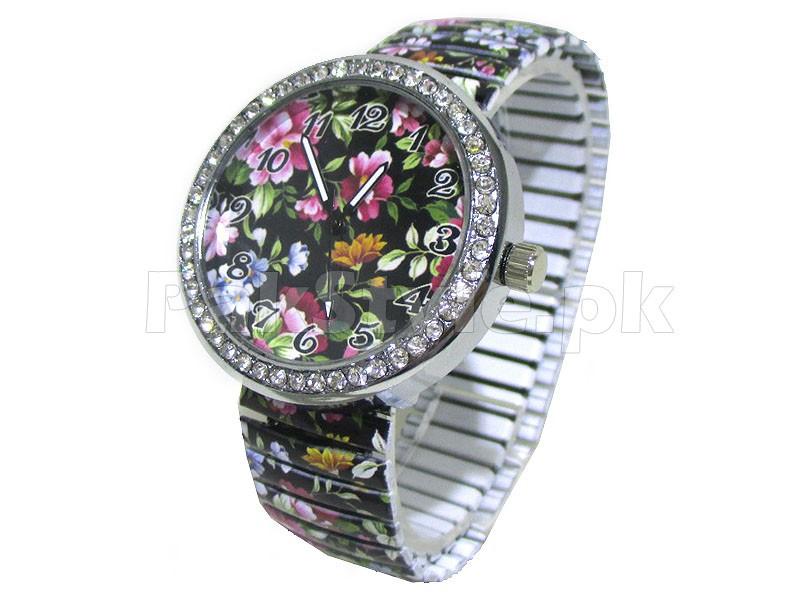 Stylish Girls Flower Watch Price in Pakistan (M008034) - Prices ...