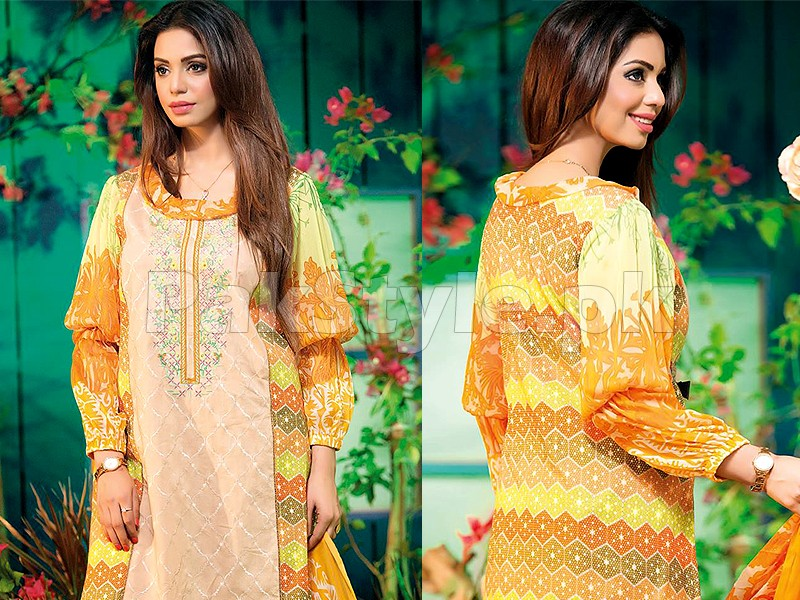 Amna Ismail Embroidered Lawn