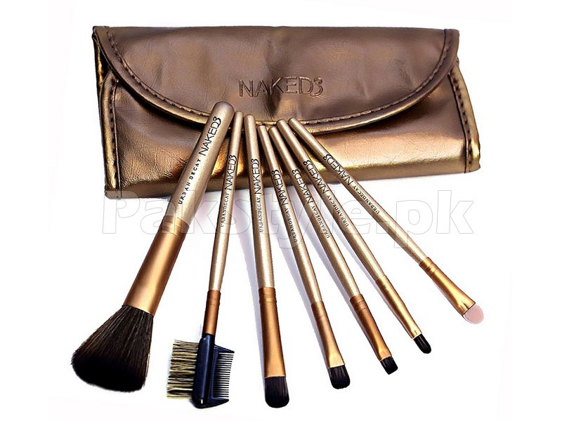 7 Pieces Urban Decay Naked3 Brush Set