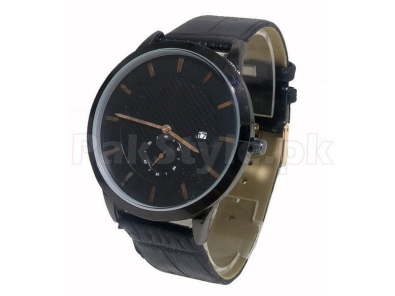 Men's Down Second Date Dial Watch
