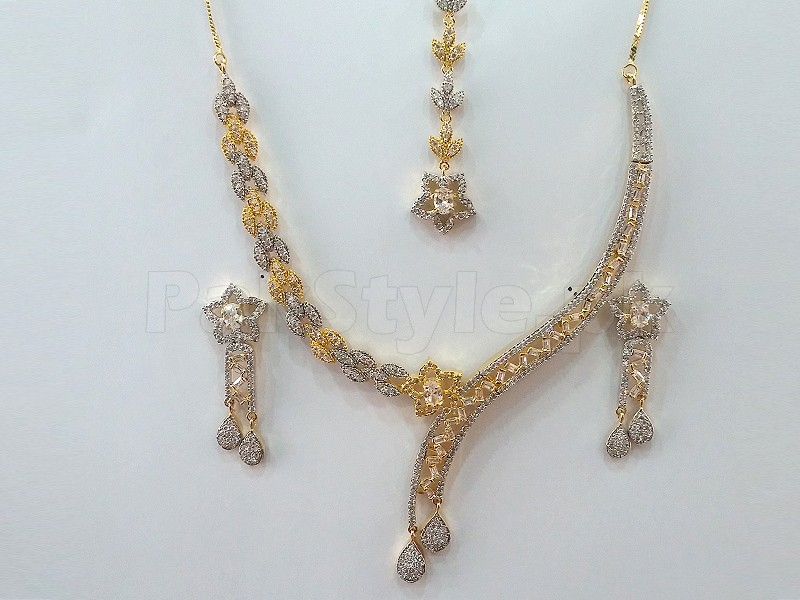 Indian AD Jewellery Set Price in Pakistan (M008495) - Prices & Reviews