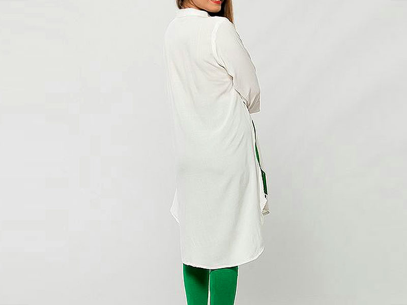 Independence Day Kurti White with Tights