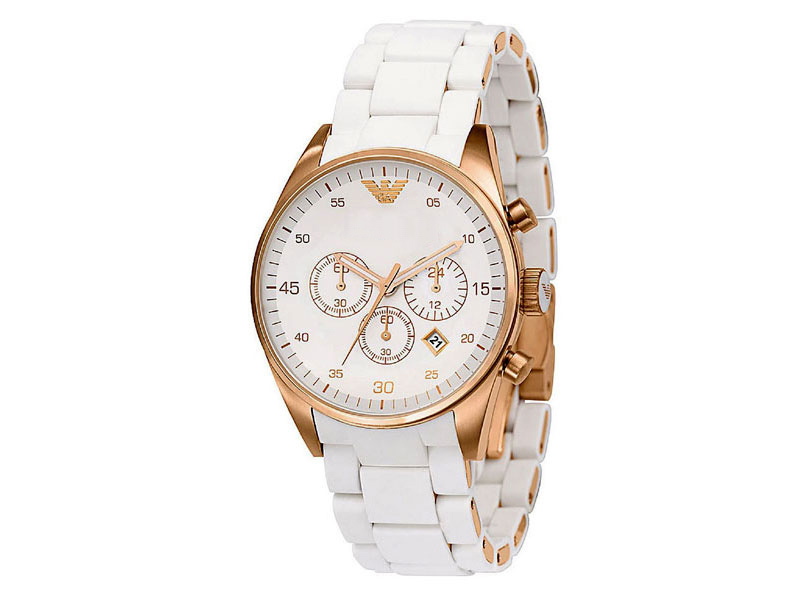 Emporio Armani White Watch Price in Pakistan