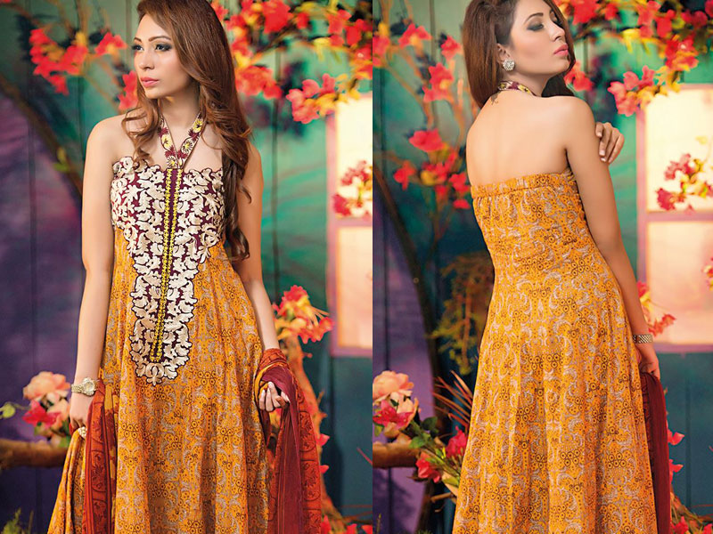 Amna Ismail Embroidered Lawn Suit