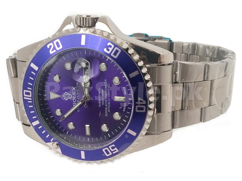 Rolex Submariner Watch - Blue Dial in Pakistan