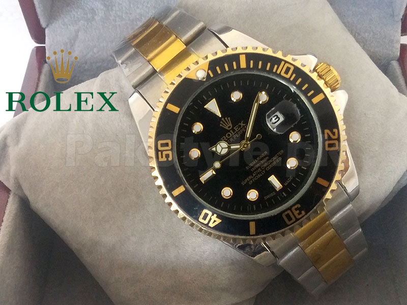 c3afce13568 Pack of 2 Rolex Submariner Watches Price in Pakistan (M008855 ...