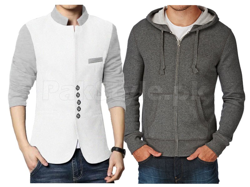 Men's Coat & Hoodie Combo Deal Price in Pakistan