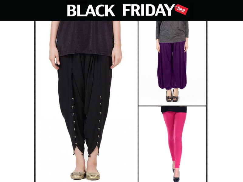 Combo of 3: Tulip Pant, Harem Pant & Tights Price in Pakistan