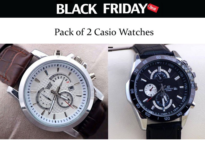 2 Casio Watches Black Friday Deal Price in Pakistan