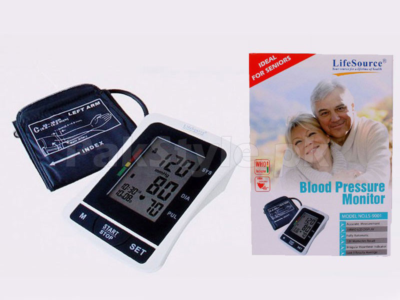 Life Source Blood Pressure Monitor Price in Pakistan