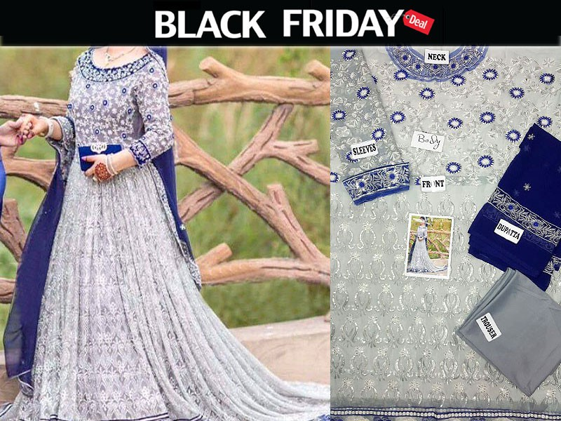 Chiffon Dress Black Friday Deal # 2 Price in Pakistan