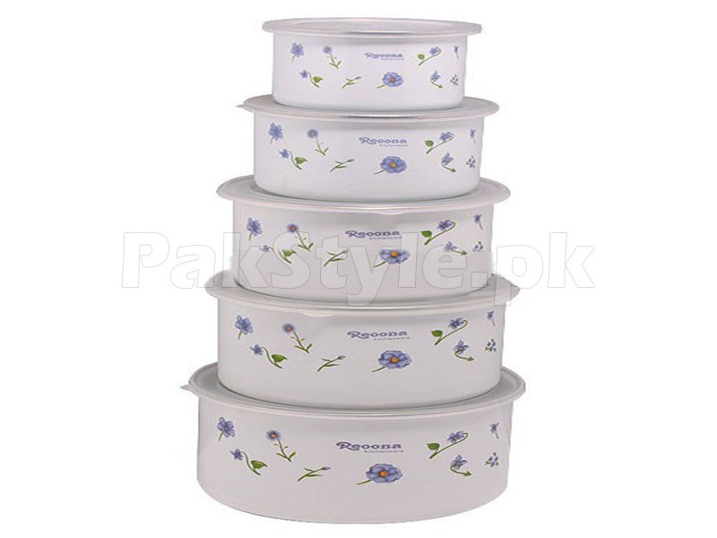 Set of 5 Food Containers Price in Pakistan