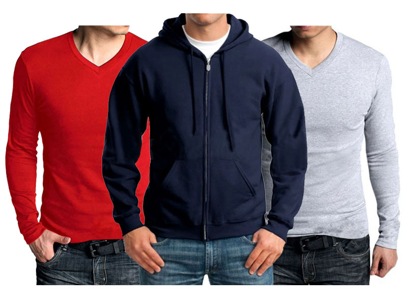 1 Hoodie & 2 T-Shirts Combo Deal Price in Pakistan