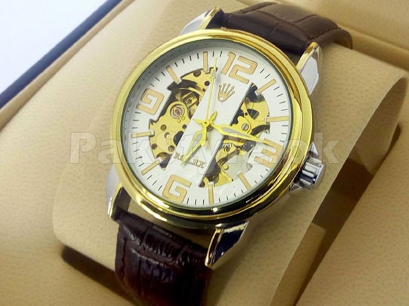 Rolex Skeleton Automatic Watch Price in Pakistan