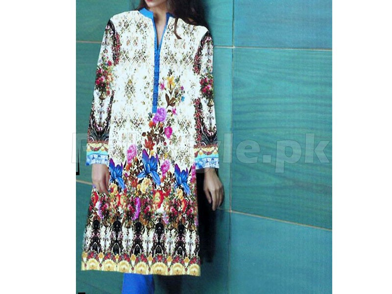 Digital Printed Stitched Kurti D-05