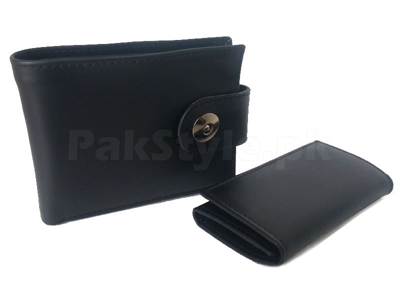 100% Pure Leather Wallet Combo Pack
