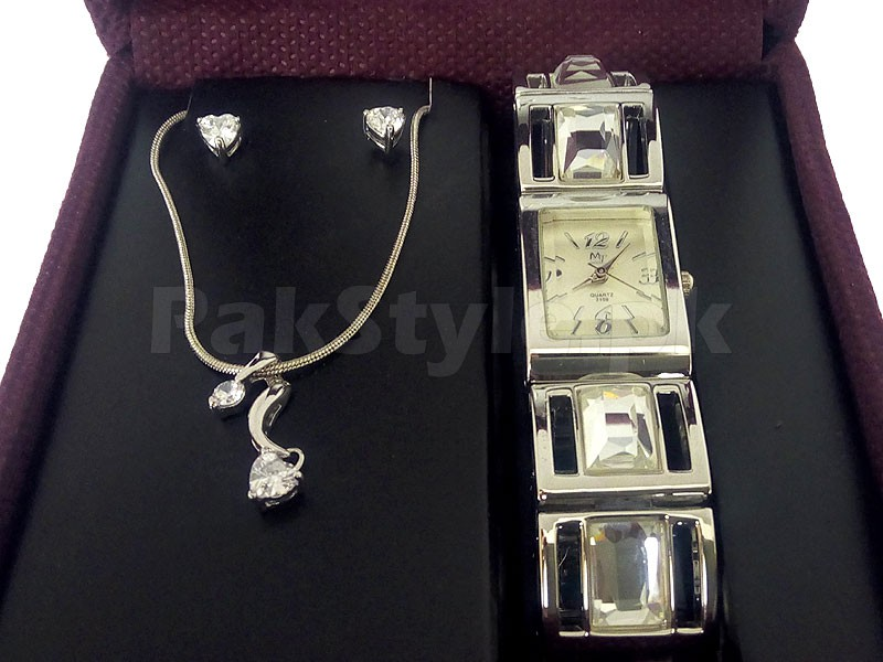 Jewellery & Watch Gift Set Price in Pakistan