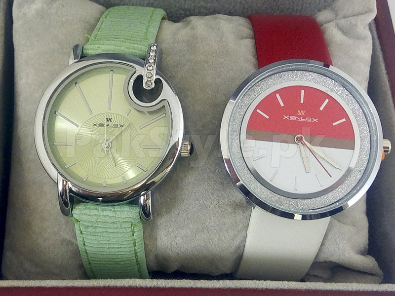 Pack of 2 Girls Fashion Watches