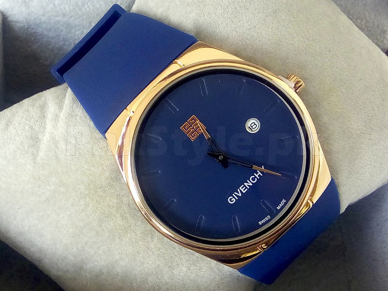 Givenchy Ultra Slim Watch - Blue Price in Pakistan