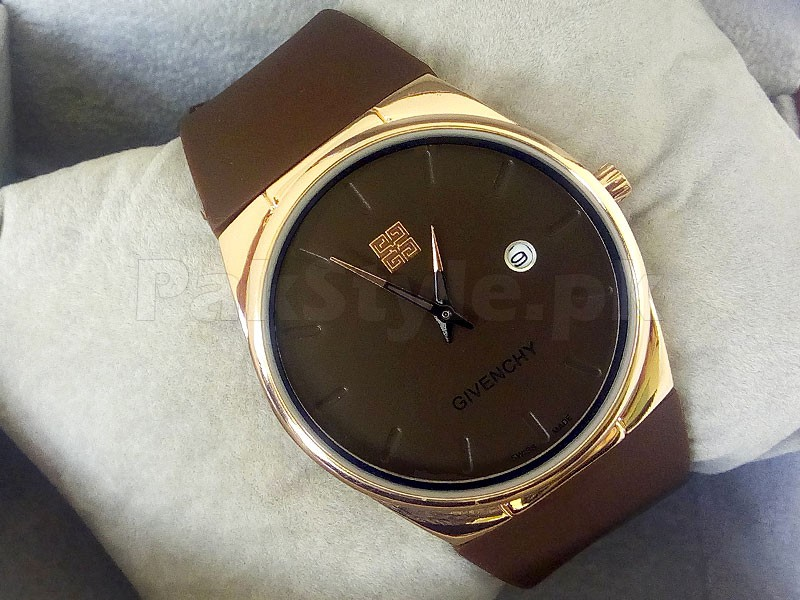 Givenchy Ultra Slim Watch - Brown Price in Pakistan