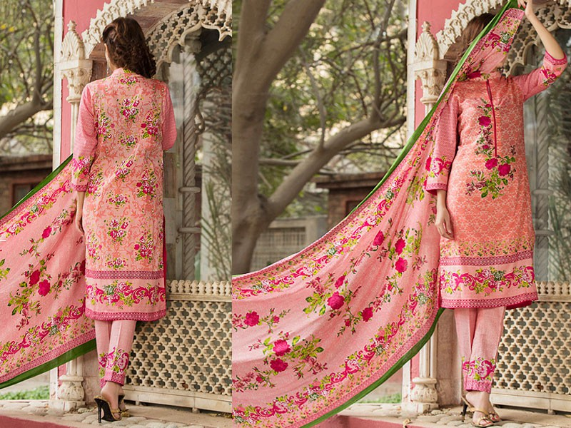 Most Hit Design: VS Classic Lawn Dress with Lawn Dupatta C1-8A