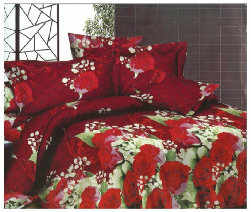 3D Bed Sheet With 2 Pillow Covers (3D-13) Price in Pakistan