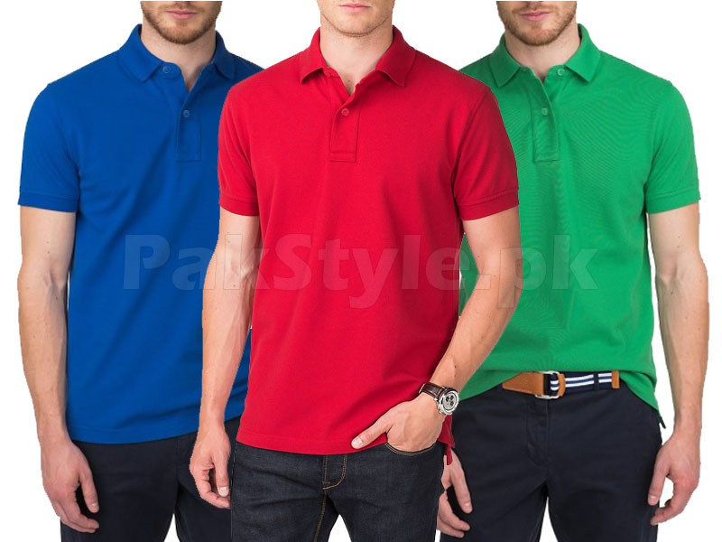 Pack of 3 PC Polo Shirts Price in Pakistan
